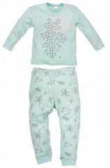 PINOKIO Dívčí pyžamo Colette - světle zelené