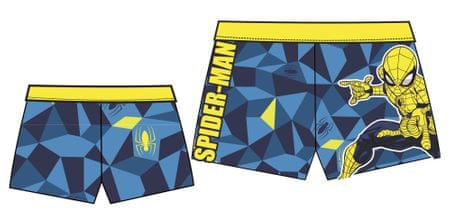 Disney by Arnetta chlapecké plavky Spiderman 98 žlutá/modrá