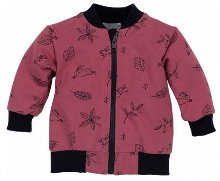 PINOKIO Dívčí kabátek Colette - červený 74