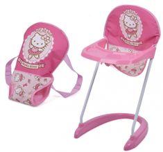 Hauck Látková sedačka s nosičom Hello Kitty