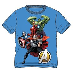 Disney by Arnetta chlapčenské tričko Avengers