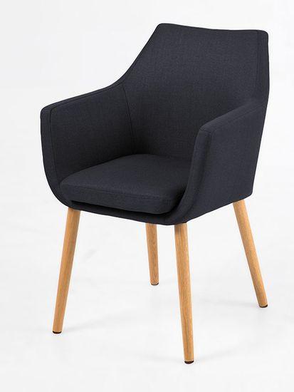 Design Scandinavia Konferenčná stolička s podrúčkami Marte B