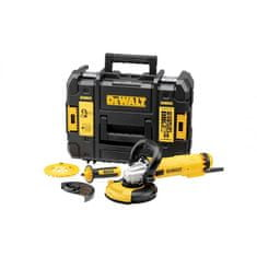 DeWalt kotni brusilnik, 1200 W, 125 mm, kit (DWE4217KT)