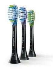 Philips zamjenske glave za Sonicare Premium Plaque Defense Black HX9073/33