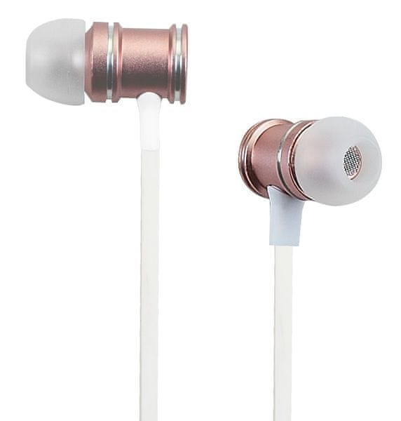 Grundig Bluetooth Earphones, růžová