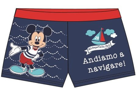 Disney by Arnetta chlapčenské plavky Mickey Mouse 80 modrá