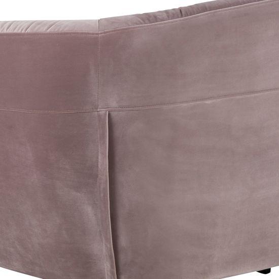 Design Scandinavia Pohovka 3-sedák Megan, 191 cm, ružová