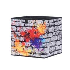 FARELA Úložný box Beta 1, 32 cm, Graffiti