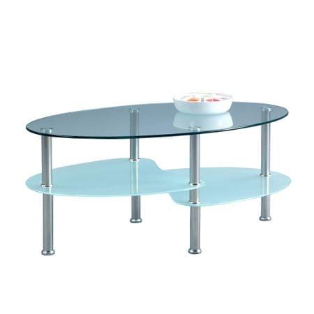 Artenat Konferenční stolek skleněný Magna, 90 cm