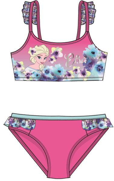 Disney by Arnetta dívčí plavky Frozen 122 růžová