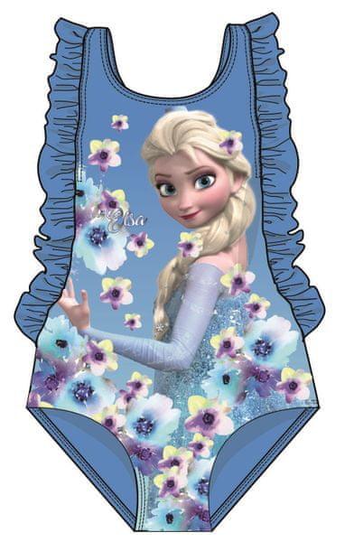 Disney by Arnetta dívčí plavky Frozen 122 modrá