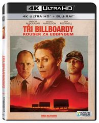 Tři billboardy kousek za Ebbingem (2 disky) - Blu-ray + 4K ULTRA HD