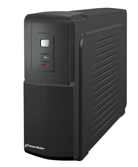 PowerWalker brezprekinitveno napajanje UPS VFD 1000, Standby/Off-Line, 600W/1000VA