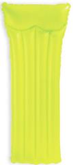 Intex napihljiva blazina neon, 183 x 76 cm, zelena