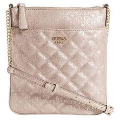 Guess Dámská kabelka Seraphina logo Crossbody Pink