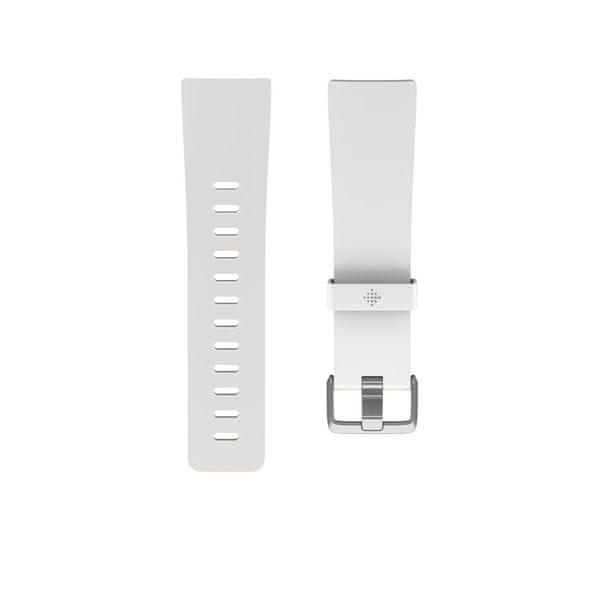 Fitbit Versa - náhradní řemínek Classic Accessory Band White, L
