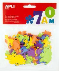 Pěnovka APLI tvarová zvířátka/100 ks