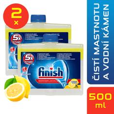 Finish Čistič myčky Lemon 2x 250 ml