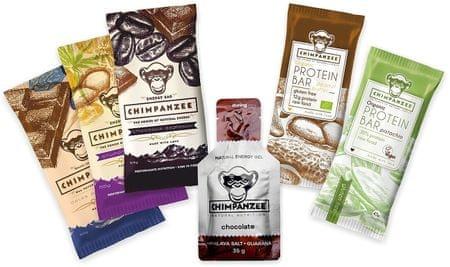 CHIMPANZEE Energy + Protein set 5+1 čokoláda/ořech