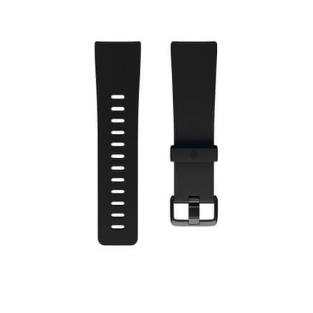 Fitbit Versa - tartalék óraszíj Classic Accessory Band Black, S