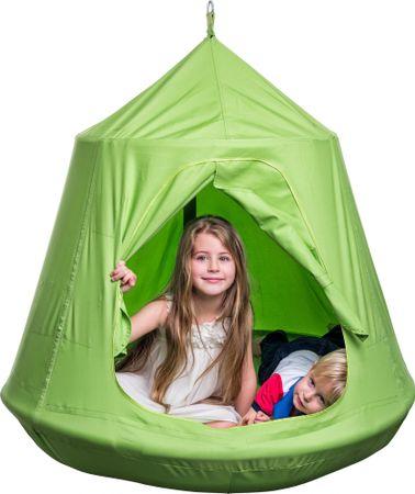 Woody Madárfészek, zöld, felakasztható sátor