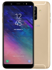 Samsung GSM telefon Galaxy A6+ (2018), Dual SIM, 32 GB, zlat