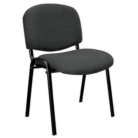 Pisarniški stol Monti, črn