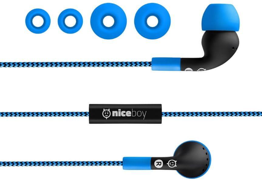 Upravljajte glasnost slušalk Niceboy Hive WE1 prostoročno z mikrofonom