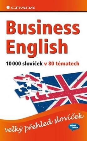 Baddock Barry, Vrobel Susie: Business English 10000 slovíček v 80 tématech