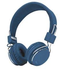 Trust naglavne slušalke Ziva, modre
