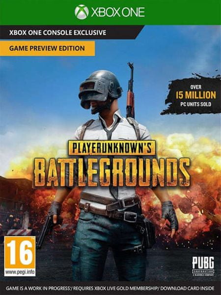 PlayerUnknowns Battlegrounds 1.0 (XONE)