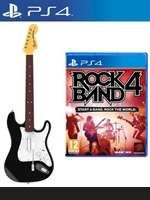 Rock Band 4 a Fender kytara (PS4)