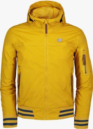 Nordblanc chlapecká nepromokavá bunda Genteel 134/140 žlutá