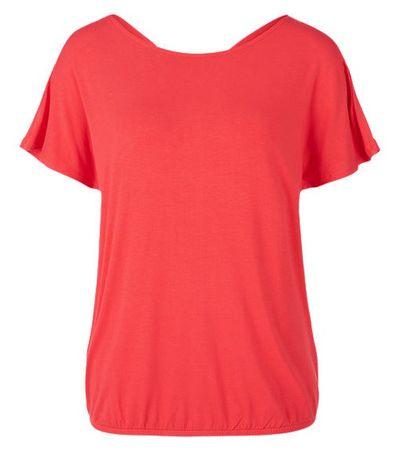 s.Oliver T-shirt damski 36 czerwony