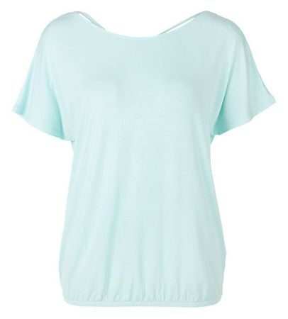 s.Oliver női póló 40 türkiz