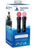 Pohybový ovladač PlayStation Move - Twin Pack (PS4)