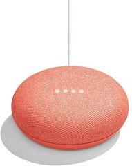 Google Home Mini - hangszóró mesterséges intelligenciával, vörös