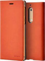 Nokia Slim Flip Case CP-302 for Nokia 5, hnědá 1A21ML100VA