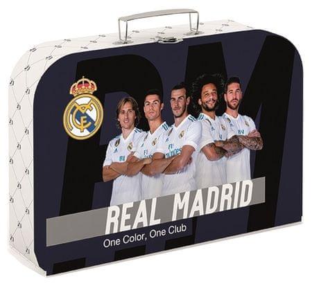 Karton P+P Kufrík lamino 34 cm Real Madrid