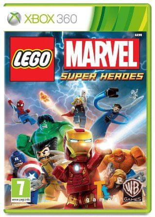 Warner Bros Lego Marvel Super Heroes (Xbox 360)