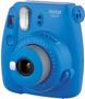 1 - FujiFilm polaroidni analogni fotoaparat Instax Mini 9, temno moder