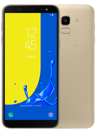 SAMSUNG Okostelefon Galaxy J6, arany