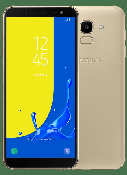 Samsung Galaxy J6, zlatá