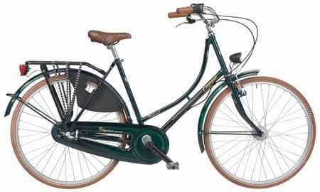 "Coppi Olanda 26"" tmavě zelená"