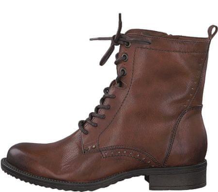 Tamaris dámská kotníčková obuv 38 hnedá