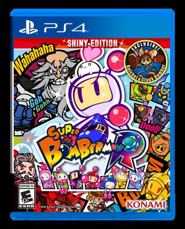Konami igra Super Bomberman R Shiny Edition (PS4)