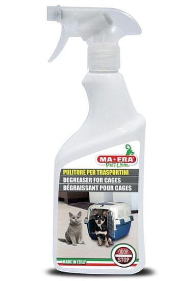 MA-FRA Pet Line sredstvo za čišćenje kaveza i krletki Odor Stop, 500 ml