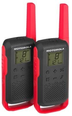 Motorola TLKR T62, červená
