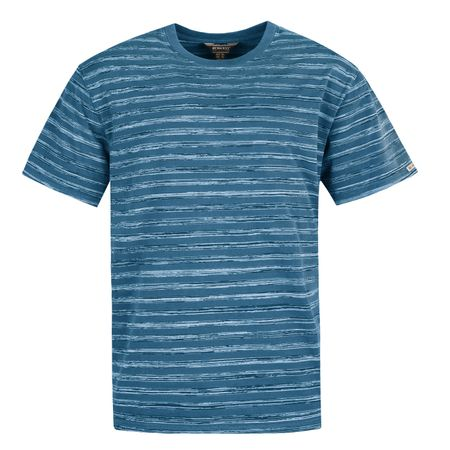 Bushman Tričko JAY, modrá, M