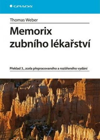 Weber Thomas: Memorix zubního lékařství - 3. vydání